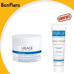 B.P URIAGE XEMOSE CERAT RELIPIDANT ANTI-IRRITATIONS 200ML+URIAGE Cold cream Crème Protectrice, 100ml(OFFERT)